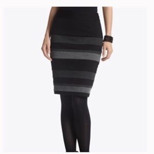 WHBM Knit Pencil Skirt